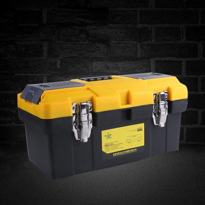 厂价塑料工具箱家用多功能大号维修工具箱手提式车载收纳箱盒