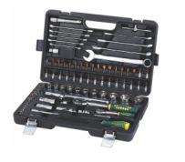 厂家直销组合工具85PCS,1/2,1/4铬钒钢系列