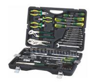 厂家直销组合工具86PCS,1/2,1/4铬钒钢系列