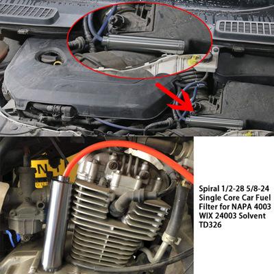 跨境10英寸1/2-28汽车燃油滤清器6英寸适用于NaPa 4003 WIX 24003