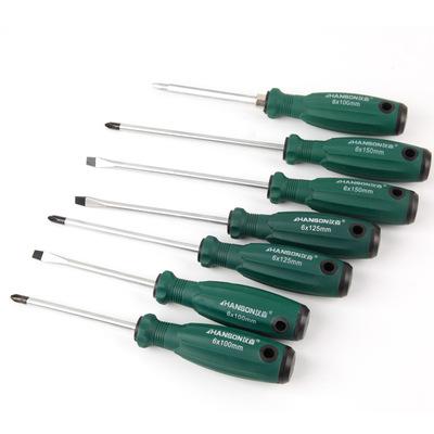 手动螺丝刀起子改锥 一字十字螺丝批 4寸5寸6寸磁性螺丝刀