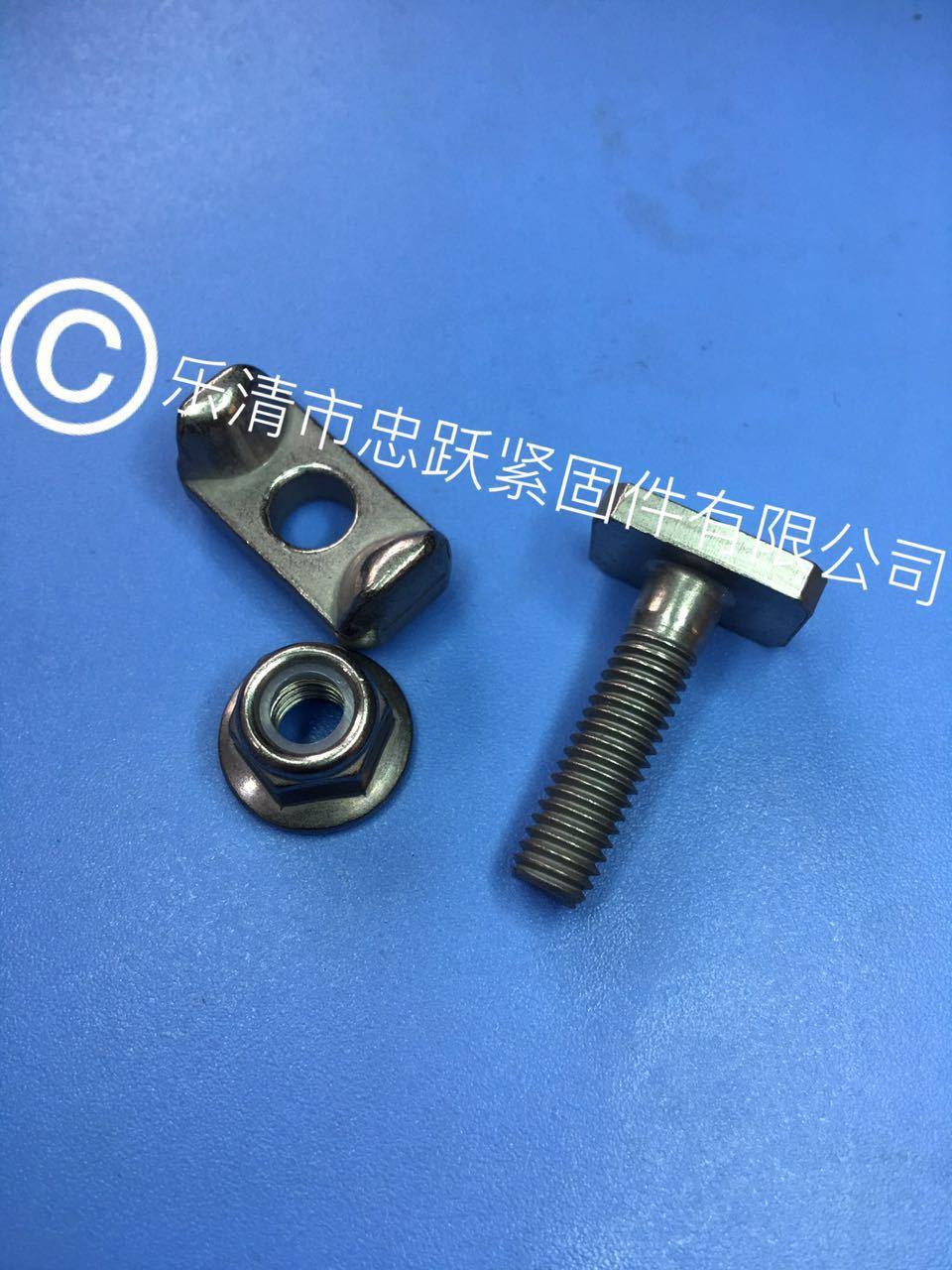 汽配螺栓 不锈钢T型螺栓 四方头螺栓 汽车元宝螺栓 T形螺栓
