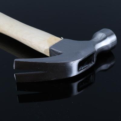 厂家批发临沂五金工具木柄羊角锤钉锤胶柄包塑柄纤维柄羊角锤起子