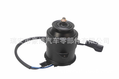 厂家直销 日系车散热器 汽车冷凝器电机 空调风扇直流电机
