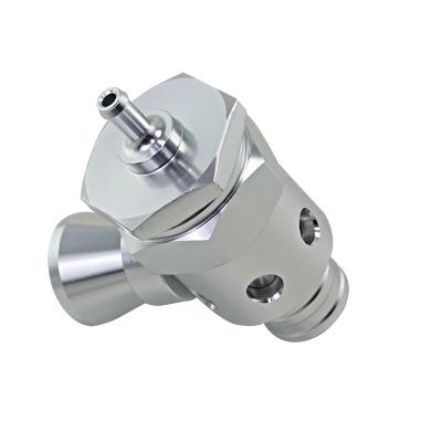跨境爆款改装汽配银色涡轮排气阀带口哨适用于通用车型