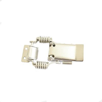 鸭嘴不锈钢搭扣不锈钢箱扣304弹簧金属锁扣定做各种异形冲压件