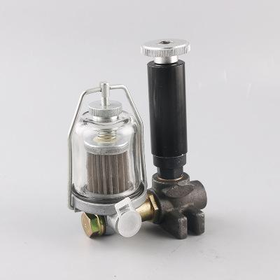 厂家供应 盛银 L105-1 依维柯手动泵带油杯汽车手压泵
