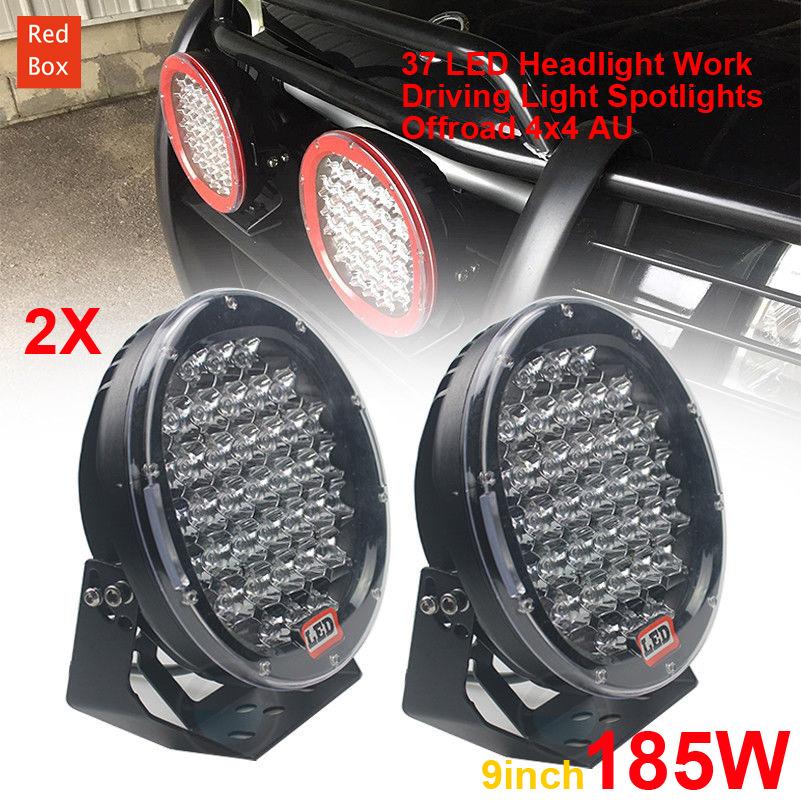澳洲海外仓代发 越野车LED灯Offroad Spot 4x4 Lights 2 x 9Inch