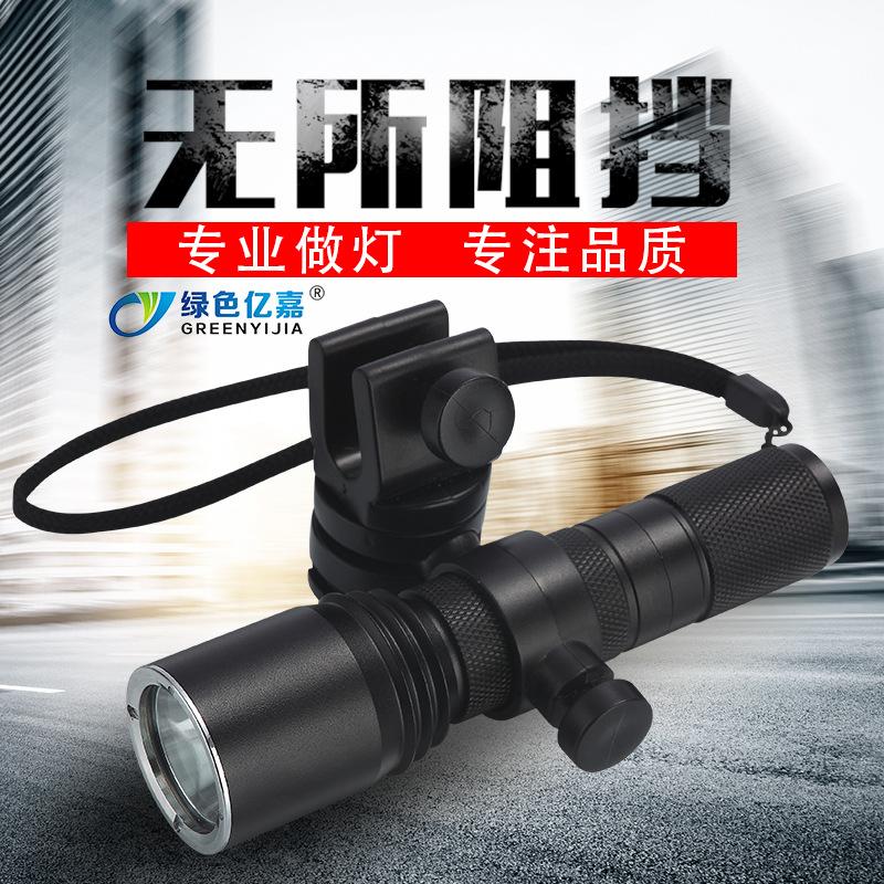 厂家直供 JW7620A 佩戴式防爆照明灯 固态微型防爆电筒 应急手电