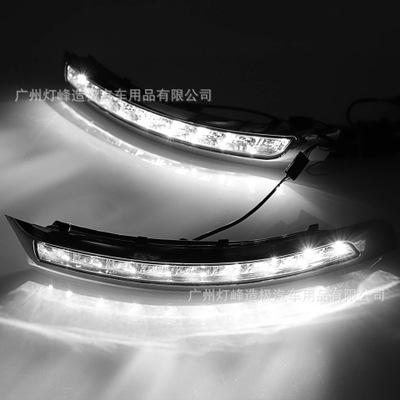 适用于沃尔沃XC90led日行灯沃尔沃xc90雾灯改装LED夜间行车灯转向