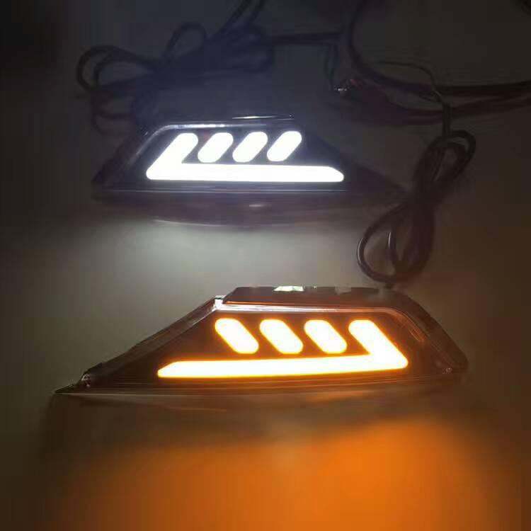 适用于十代思域Honda civic 叶子板灯 LED日行灯 改装灯