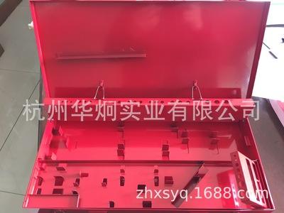 生产钻头丝锥板牙套装铁箱铁盒螺纹工具铁箱 组合铁盒 工具盒铁箱