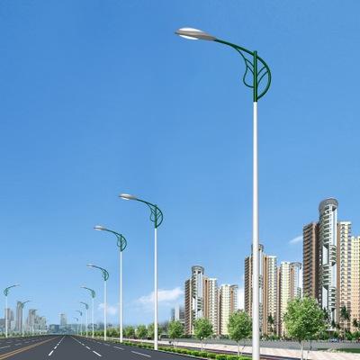 6米一次成型热镀锌圆锥形灯杆30W LED路灯 全套路灯价格800元