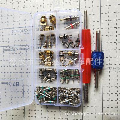 134A气门芯组合 102件套 100+2 空调气门芯