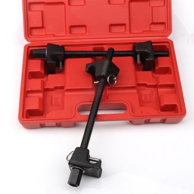 避震弹簧压缩器 四爪弹簧拆装器 减震弹簧 维修减震工具