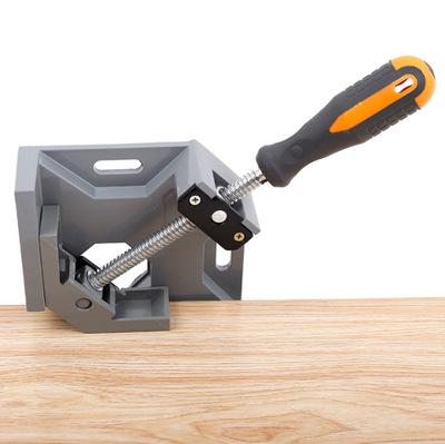 厂家直销单手柄90度铝合金直角夹角度夹 相框拼角夹工具平口钳