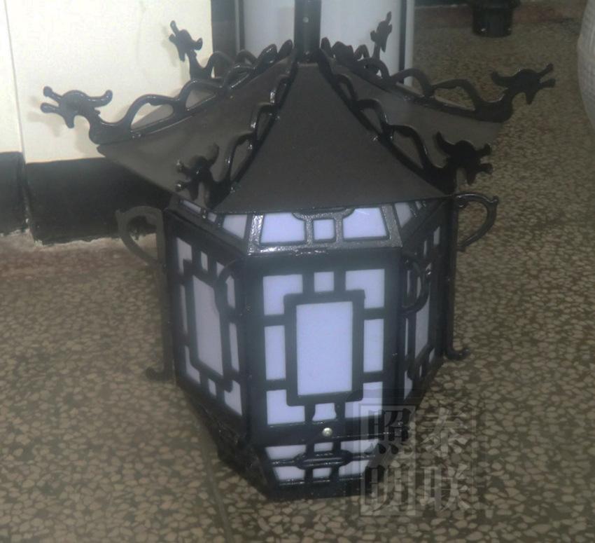 仿古庭院灯头 户外节能庭院灯 道路灯 小区、公园照明灯 厂家