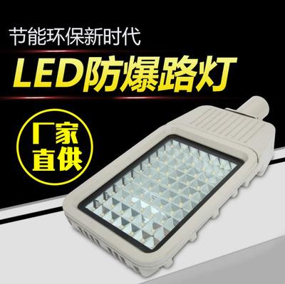单双臂LED防爆路灯 6米防爆路灯 8米防爆路灯质保3年80W 100W