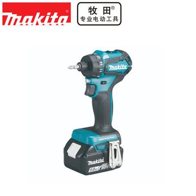 正品牧田Makita充电起子机手电钻无刷防水18V电动螺丝刀DDF083RFE