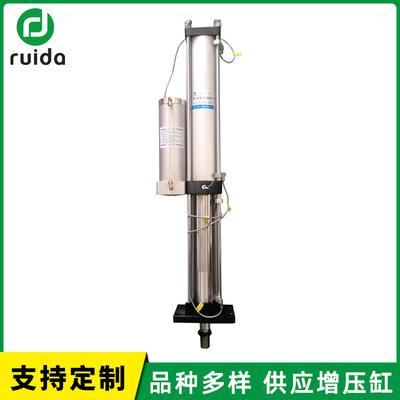 一体式增压气缸 台湾供应生产 全行程附磁型增压缸 ruida行程气缸