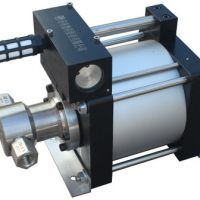 济南德科 空气增压泵 气动增压泵 空气增压单元 大流量气体增压泵