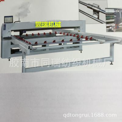 青岛全自动新型单针电脑绗缝机做被褥机器多针底线缝被机引被机