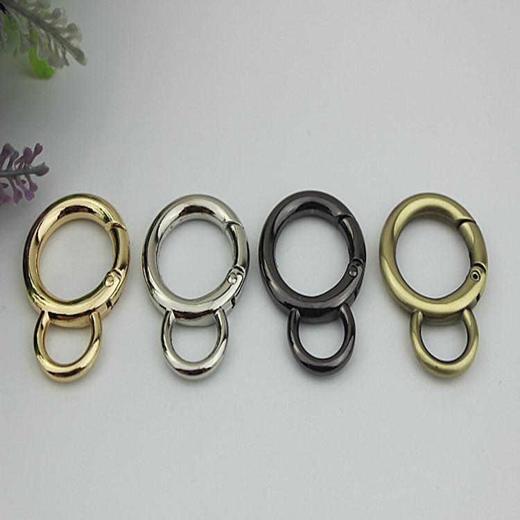内径2厘米开口弹簧圈6分8字圈连接扣箱包包五金配件钩扣 开口圆环