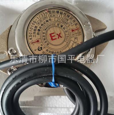 防爆磁性接近开关KSC-1010G-1/220 煤矿金矿行车传感器1-22