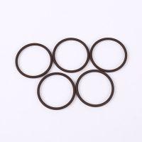 磨砂低硬度60棕色氟胶O型圈 压缩机用耐乙醇O形密封圈厂家供应