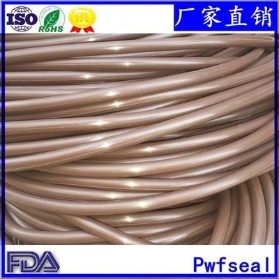 大尺寸棕色氟胶O圈 线径6.99/8.6 内径665/580耐磨耐温FKM密封圈
