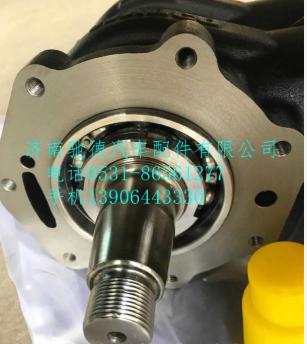VG1560130080A重汽豪沃336马力发动机双杠空压机打气泵总成 威伯克WABCO