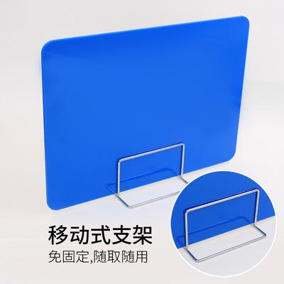 厂家直销防飞沫隔离挡板 学生课桌考试挡板 办公桌面屏风挡板隔板