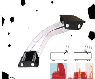 A78热销沙发五金优德88娱乐官网靠背移动铰功能扶手铰平移铰铁