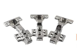 40杯厚门25MM门板固装不锈钢铰链 液压阻尼缓冲铰链 家具五金