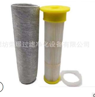 优德88中文客户端真空上料机除尘滤芯 72*400 PVC吸料机粉尘滤芯折叠式滤棒