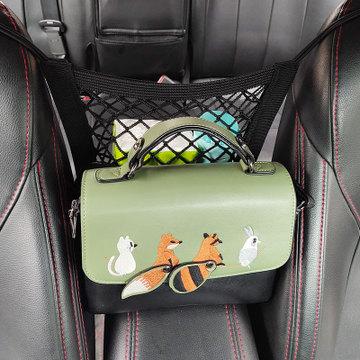 汽车座椅储物网兜收纳袋车载椅背挂袋多功能杂物盒置物包改装用品