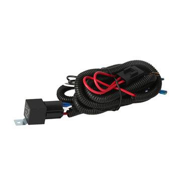 加工定制12V/24V汽车蜗牛喇叭线束 喇叭控制改装防爆喇叭线束套件
