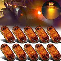 源头工厂卡车货车 2LED食人鱼边灯 拖车侧边尾灯澳洲E4 卡蒙039