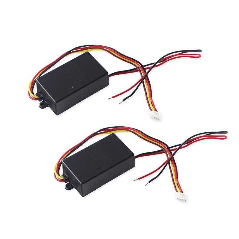 3步骤流程半动态追逐尾灯闪光模块盒