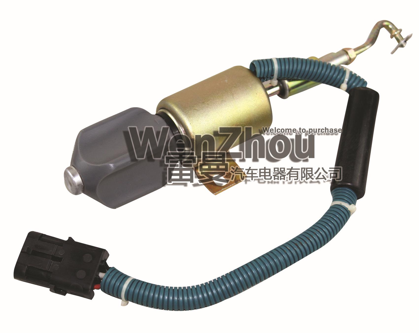 D59-105-06 DC24V 上柴6114 熄火电磁阀