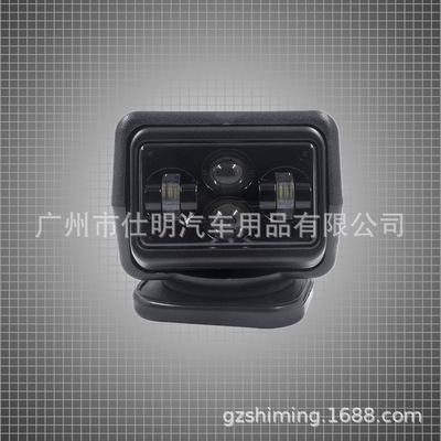 LED龙版60W吸顶灯无线遥控灯车载车顶灯6强磁底座无线遥控游艇灯
