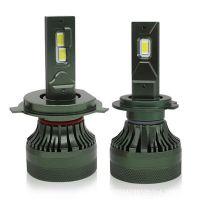 跨境专供 汽车LED灯泡 D55前大灯 超亮聚光3570进口灯珠改装车灯