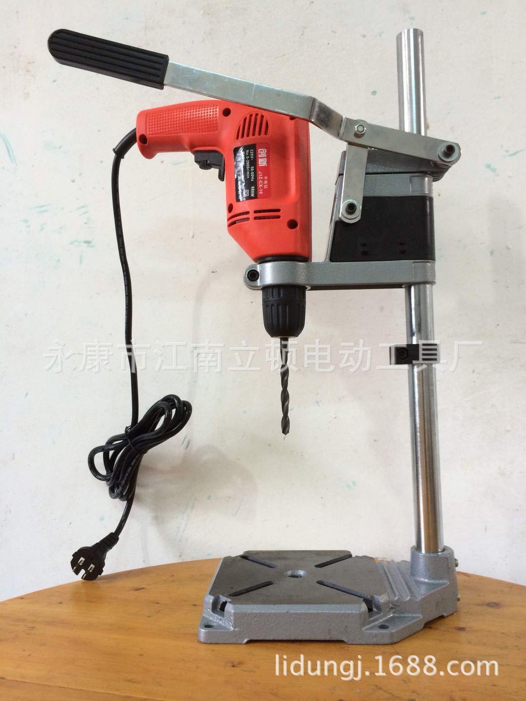 厂家直供微型手电钻支架 手电钻变微型台钻 铸铁底座 万用支架