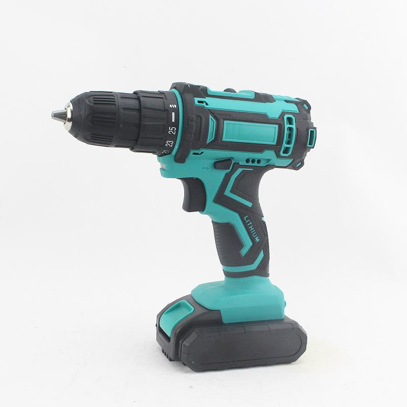 工业级锂电钻充电式电钻手钻家用大功率电动螺丝刀手枪钻厂家供货