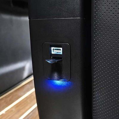 适用于丰田Alphard埃尔法USB车充威尔法后排座椅充电器Vellfire装