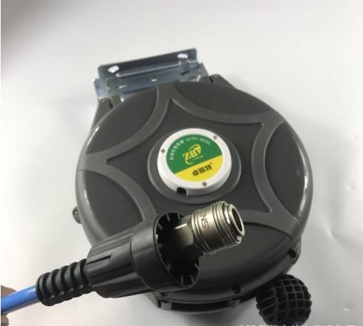 厂家直销 气鼓 自动伸缩卷管器洗车汽车美容工具 绕管器 五金工具