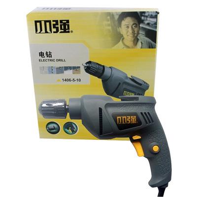 DEVON大有小强1407-5-10手电钻10mm可调速正反转500W家用手枪钻