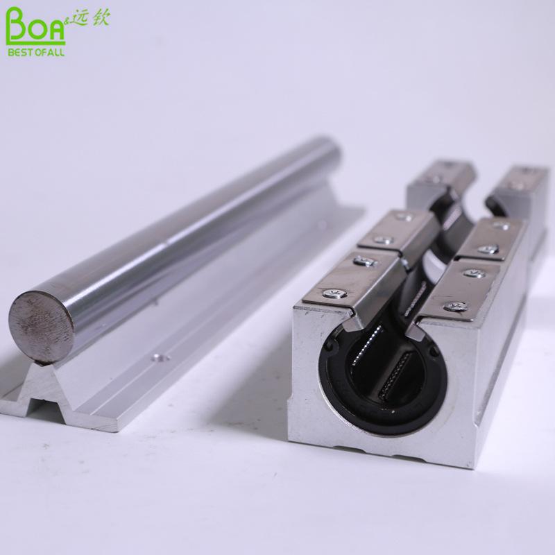 SBR30直线轴承导轨 圆柱直线导轨滑块滚柱导轨 线型导轨生产厂家