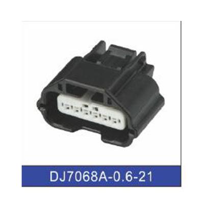 供应6孔汽车防水连接插头 接插件 塑料件DJ7068A-0.6-21